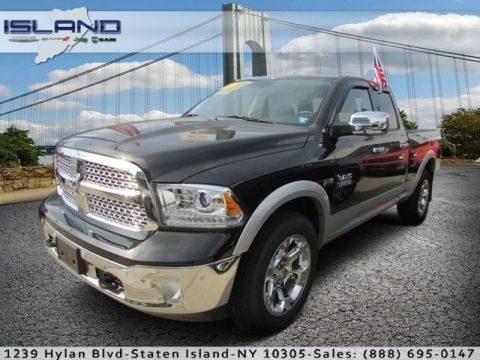 Pre-Owned 2015 Ram 1500 Laramie Four Wheel Drive Standard Bed