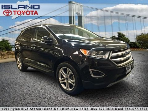 Pre-Owned 2015 Ford Edge 4dr Titanium AWD All Wheel Drive Sport Utility