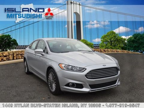 Pre-Owned 2016 Ford Fusion Titanium Front Wheel Drive Sedan